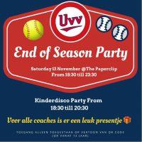 End of Season party - kom je ook?